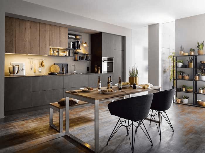 دکوراسیون های مدرن برای آشپزخانه های اوپن