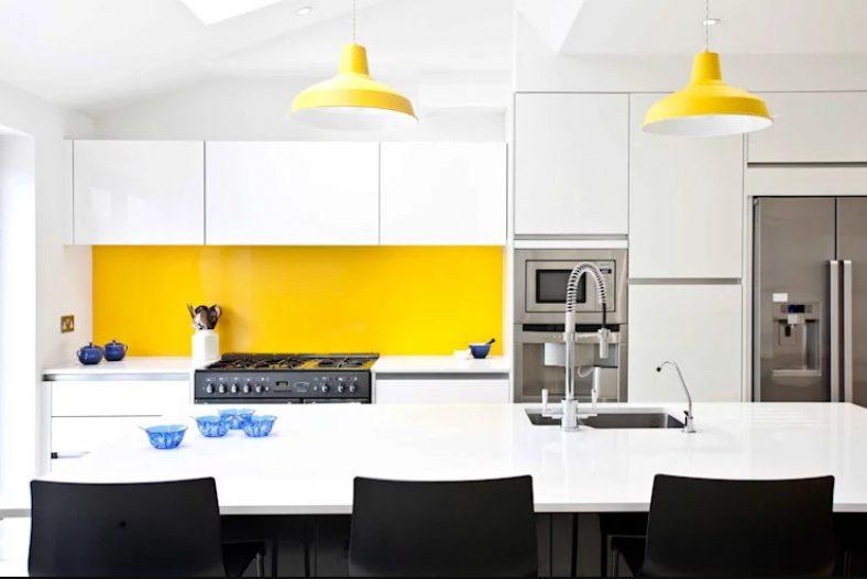 دیوار هایی متنوع برای آشپزخانه