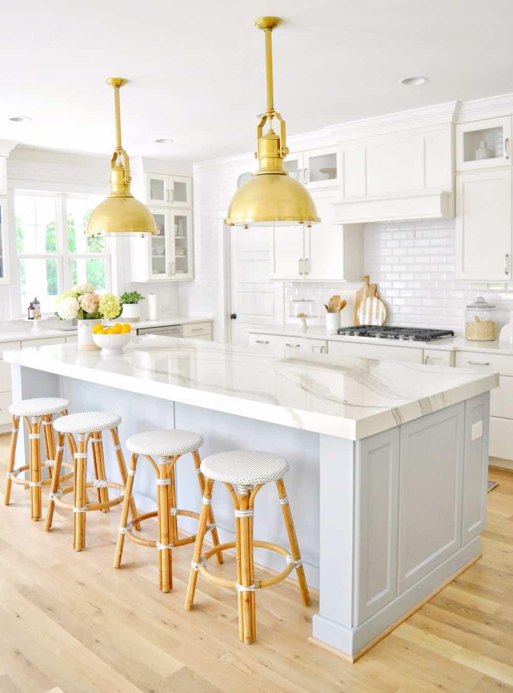 دکوراسیون آشپزخانه آبی روشن