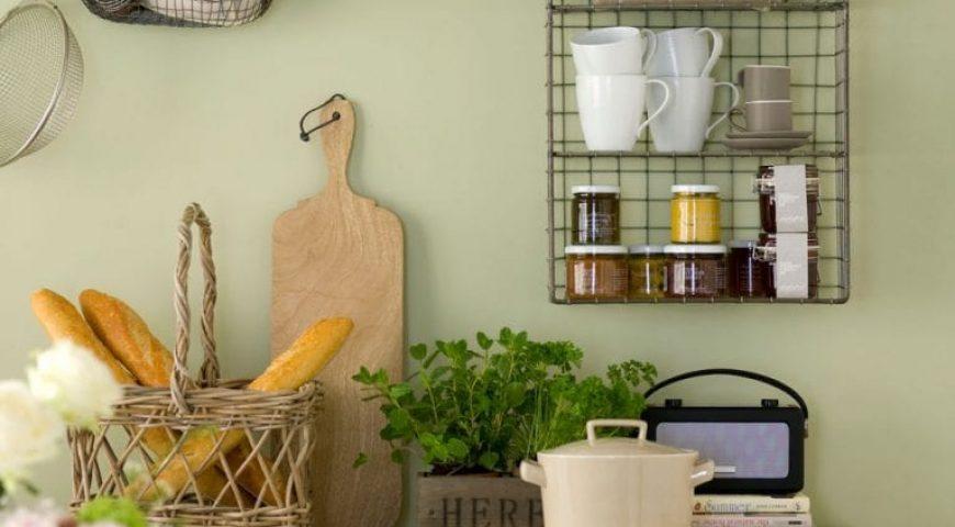 رنگ سبز در آشپزخانه ۲