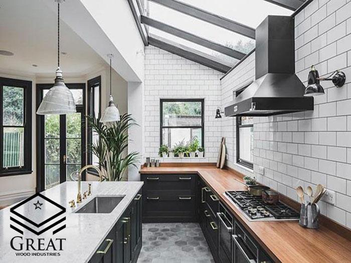 جدیدترین اصول طراحی در آشپزخانه