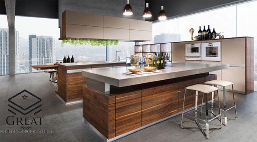 استفاده از چوب در آشپزخانه های مدرن