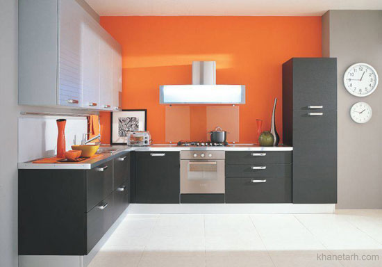 انواع کابینت آشپزخانه خانگی