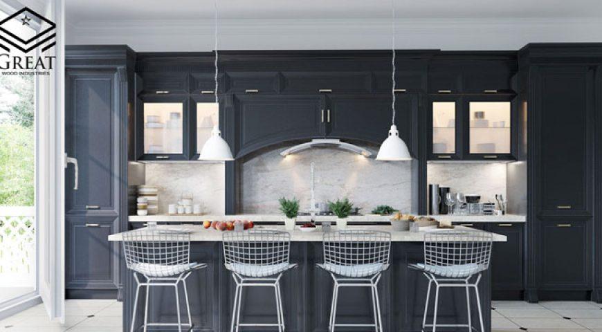 هر آنچه که باید در مورد کابینت های آشپزخانه کلاسیک بدانید(قسمت اول)