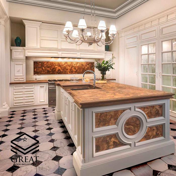 هر آنچه که باید در مورد کابینت های آشپزخانه کلاسیک بدانید(قسمت دوم)