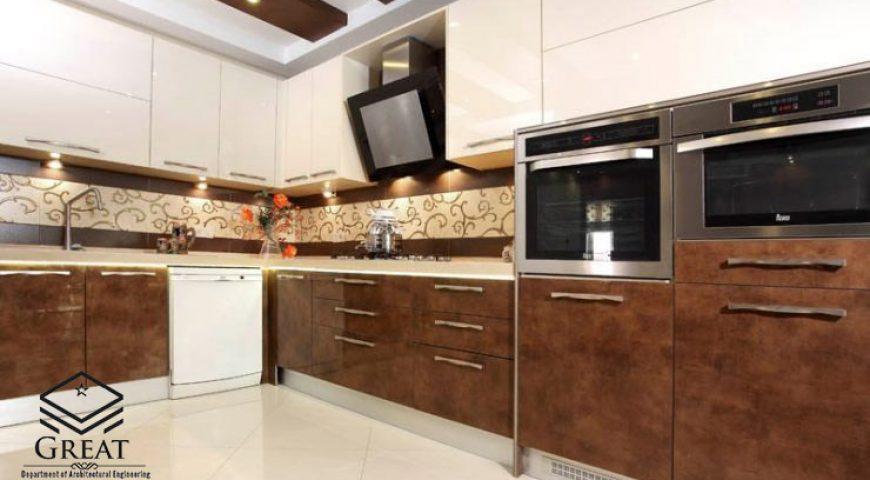 انتخاب رنگ مناسب کابینت آشپزخانه