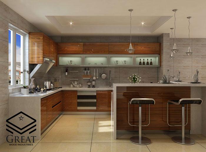 انواع کابینت آشپزخانه مدرن