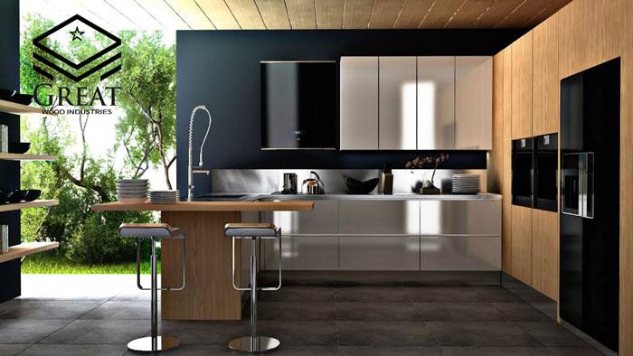 کابینت آشپزخانه مدرن - شرکت کابینت