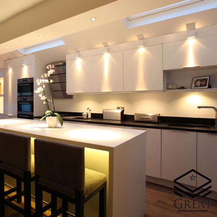 نورپردازی جزیره آشپزخانه