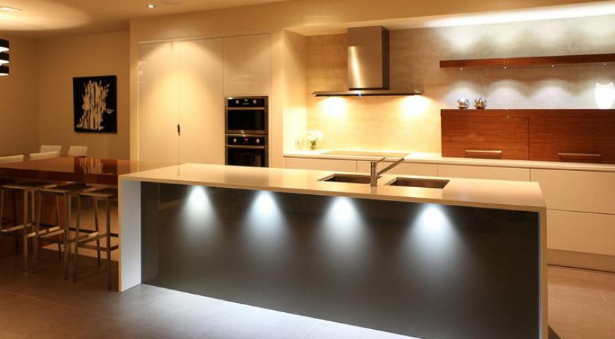 نورپردازی در دکوراسیون آشپزخانه