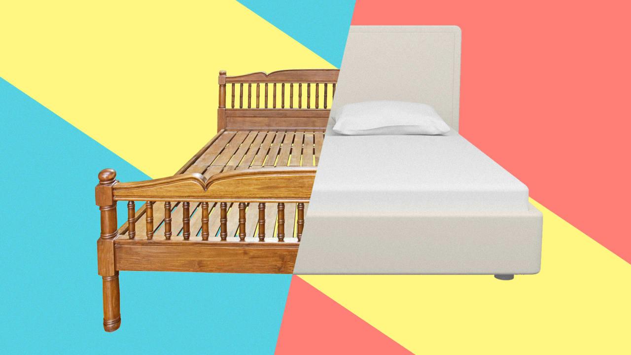 تاریخچه تخت خواب ها