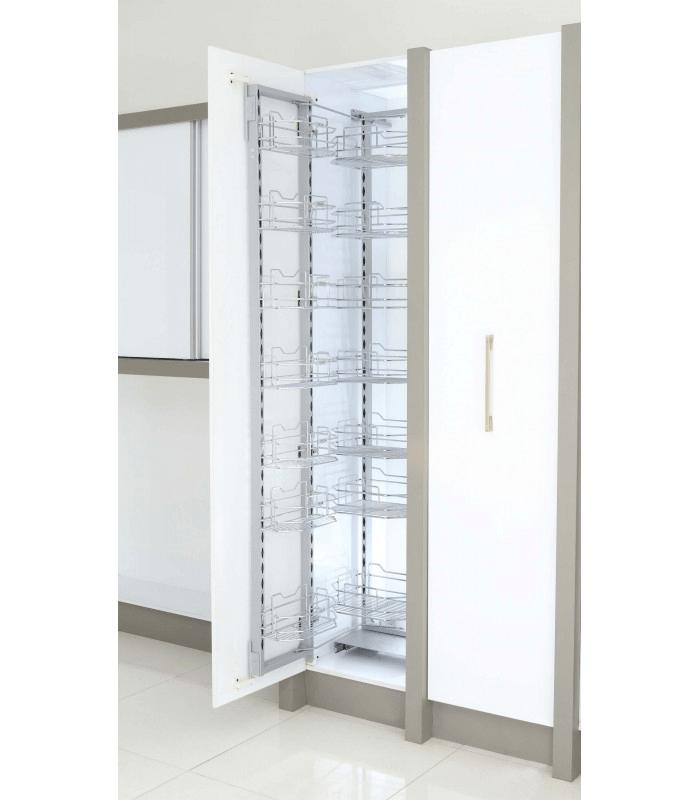 ایده سبد سوپری کابینتی در آشپزخانه