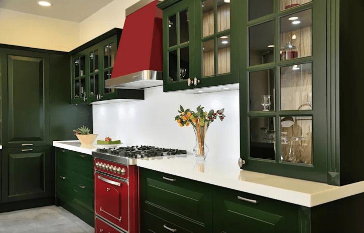 ست کردن کابینت های آشپزخانه