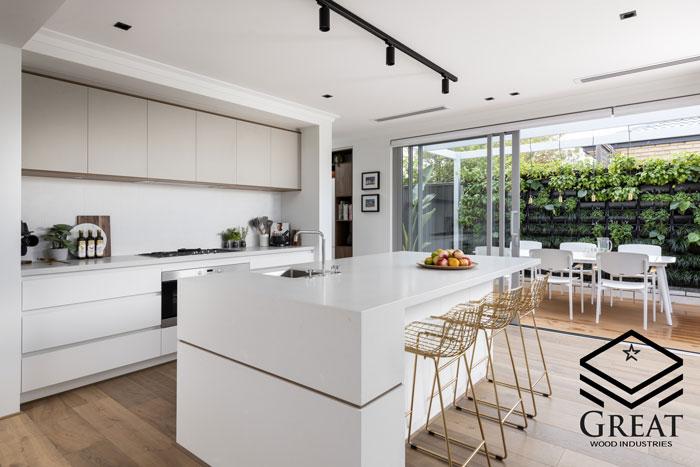 هماهنگی دکوراسیون با آشپزخانه مدرن