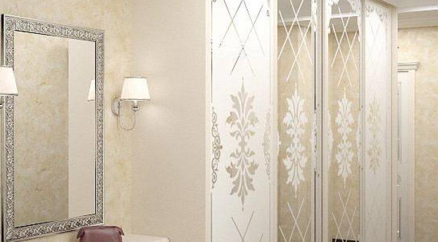 کاربرد شیشه و آینه روی کمد دیواری