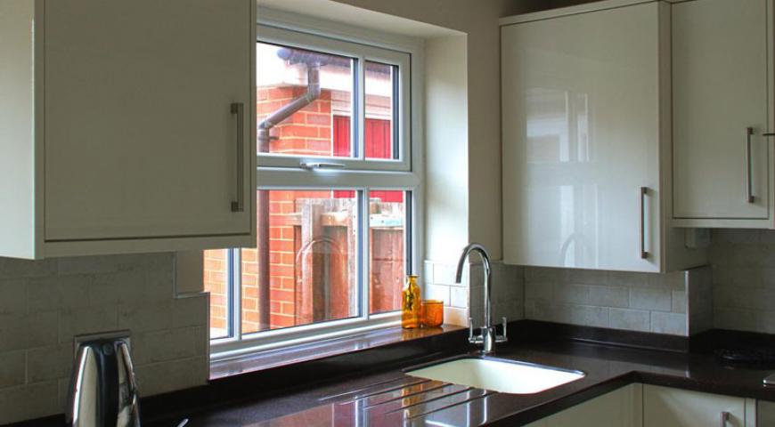 پنجره مجازی در طراحی آشپزخانه