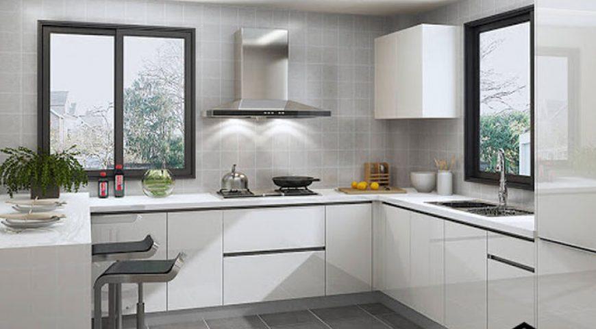 بهترین ترکیب رنگ در آشپزخانه های کوچک