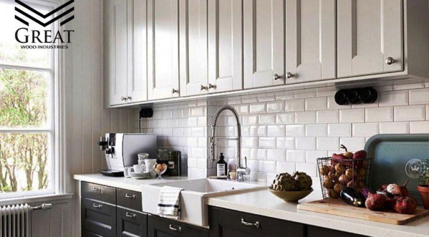 کابینت های دو رنگ آشپزخانه (قسمت اول)
