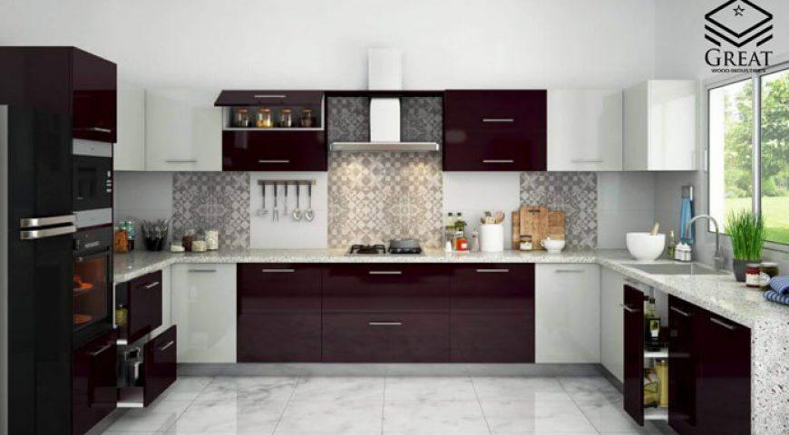 کابینت های دو رنگ آشپزخانه (قسمت دوم)