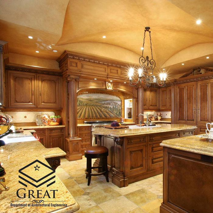 آشپزخانه سنتی - تصویر دو