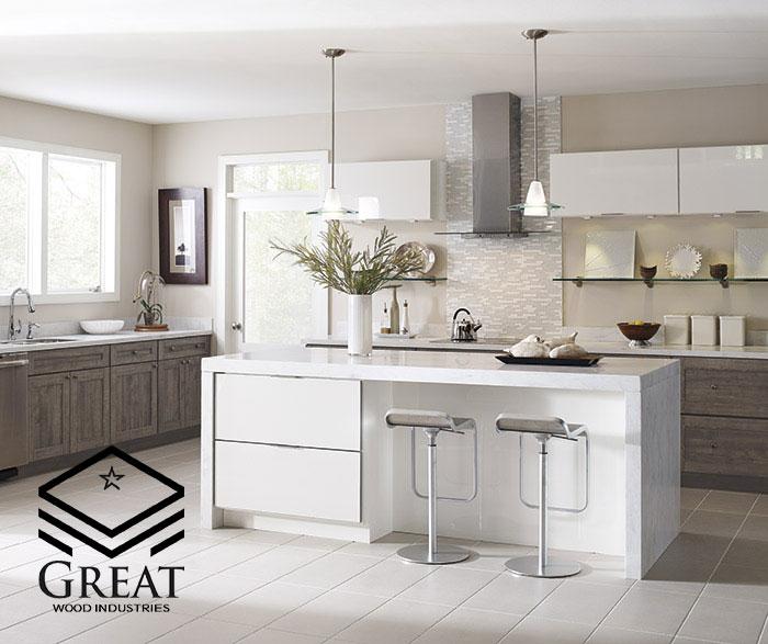 کابینت های گلاس سفید اکلیلی برای چه آشپزخانه ای مناسب است؟